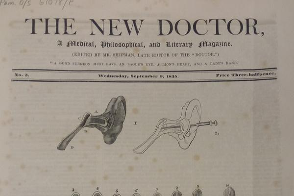 Title page from The Doctor