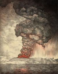 300px krakatoa eruption lithograph
